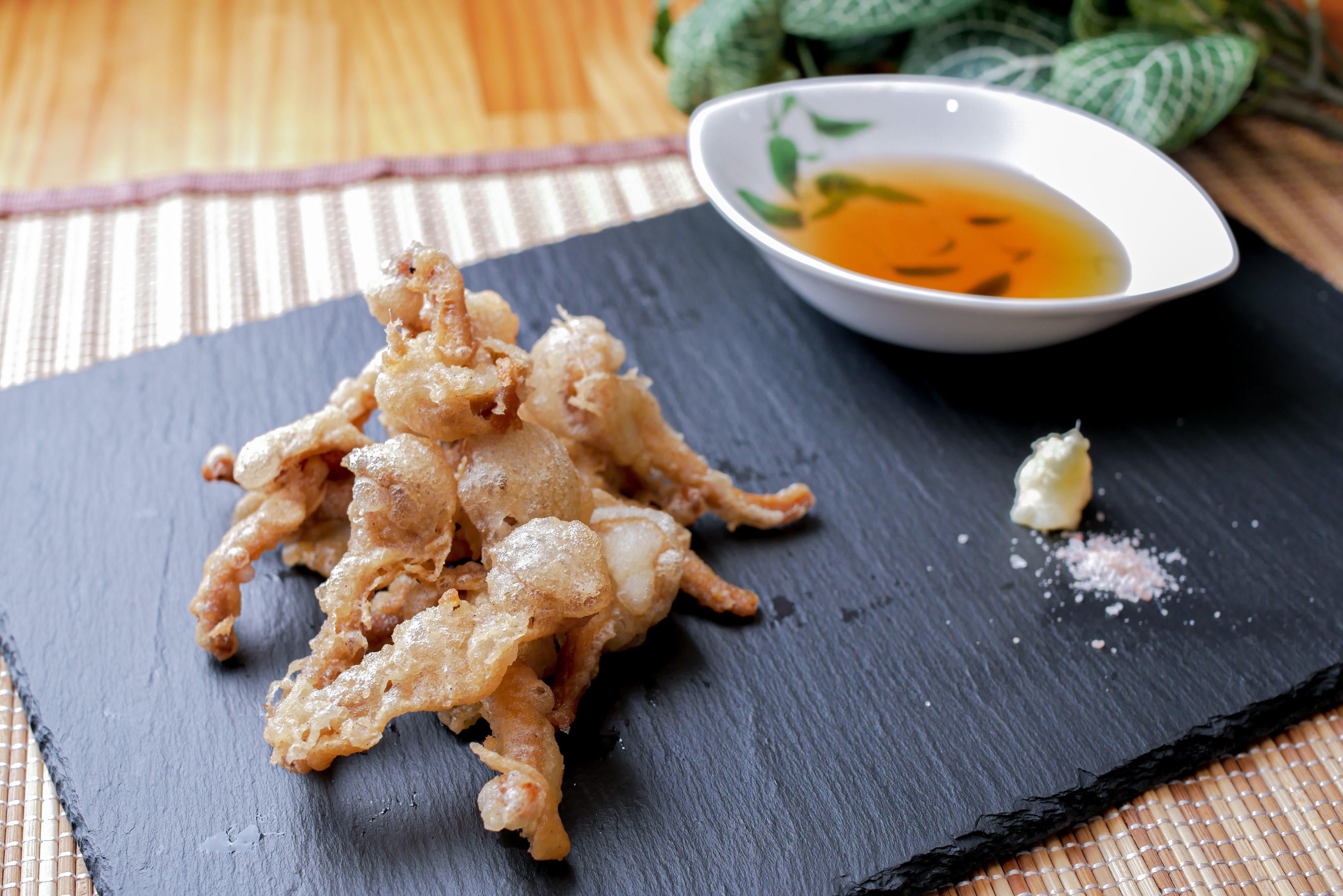 連載【子どもがよろこぶ♪HAPPYきのこレシピ③】ほくほく食感がおいしい⁈なめこの天ぷら